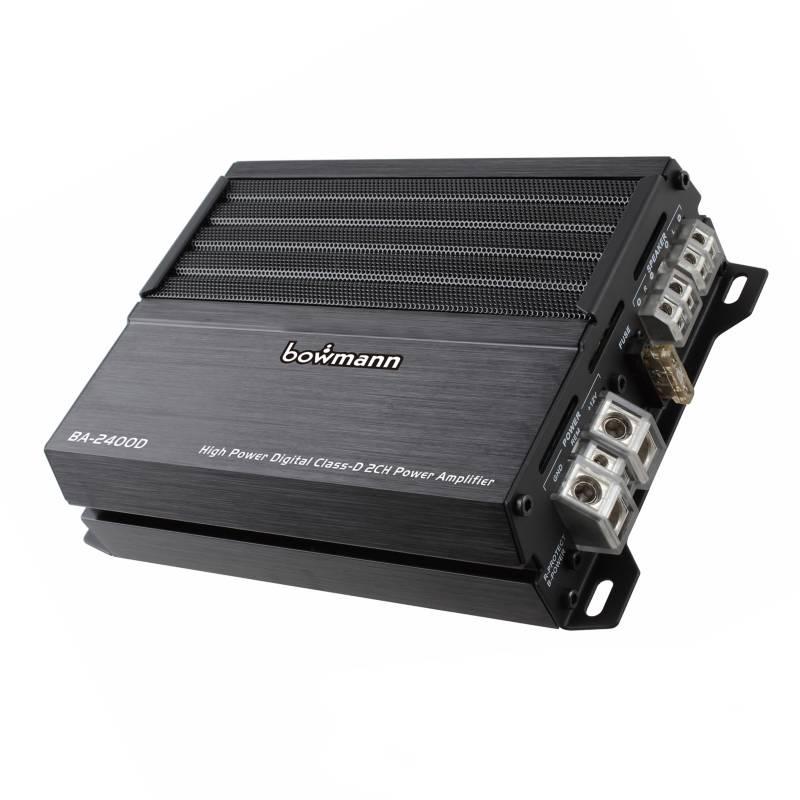 Bowmann - Amplificador 2 Canales BA-2400D
