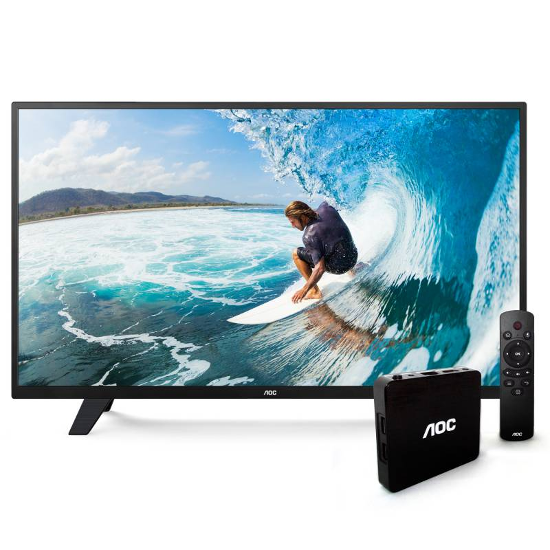 "AOC - DLED 32"" HD + Smart Pack|LE32M1571"