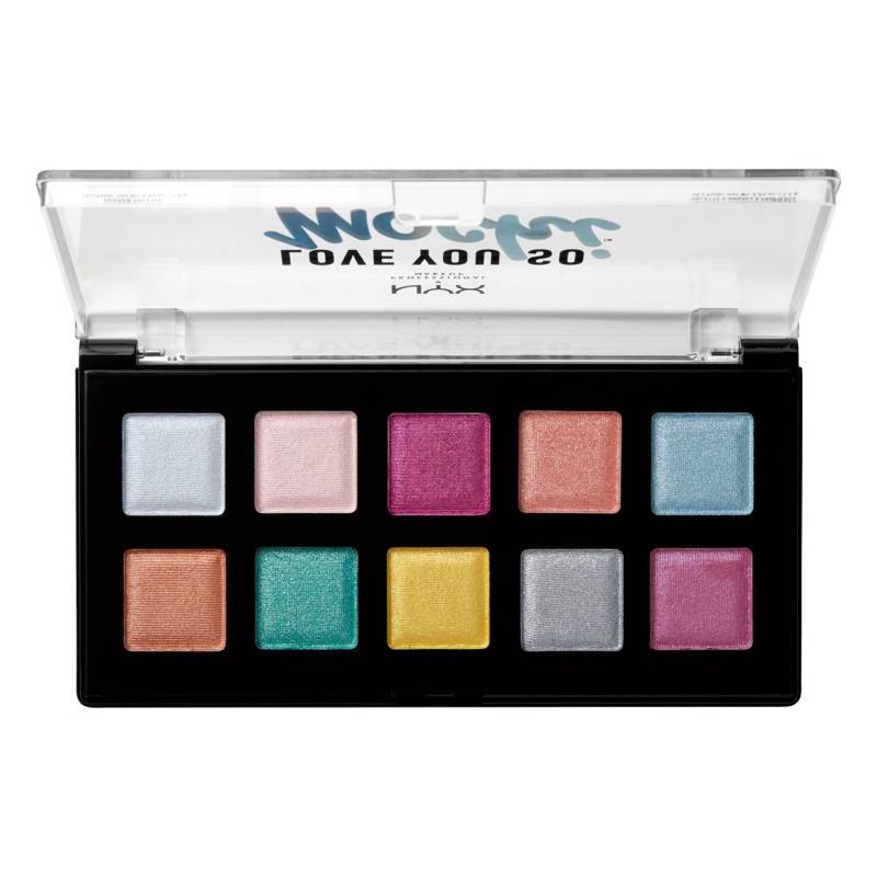 NYX Professional Makeup - Paleta De Sombras Love You So Mochi