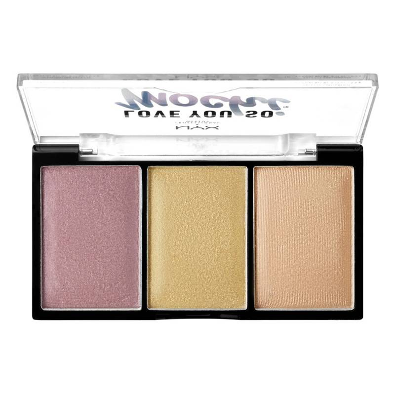 NYX Professional Makeup - Paleta de Iluminadores - Love You So Mochi Highlighting Palette