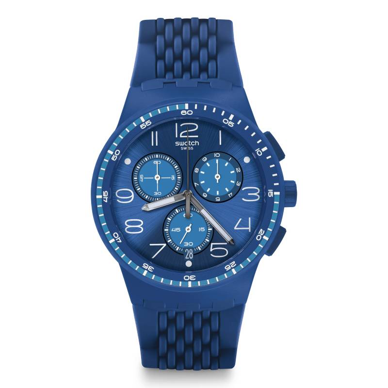 Swatch - Reloj Hombre Swatch Triple Blu SUSN415