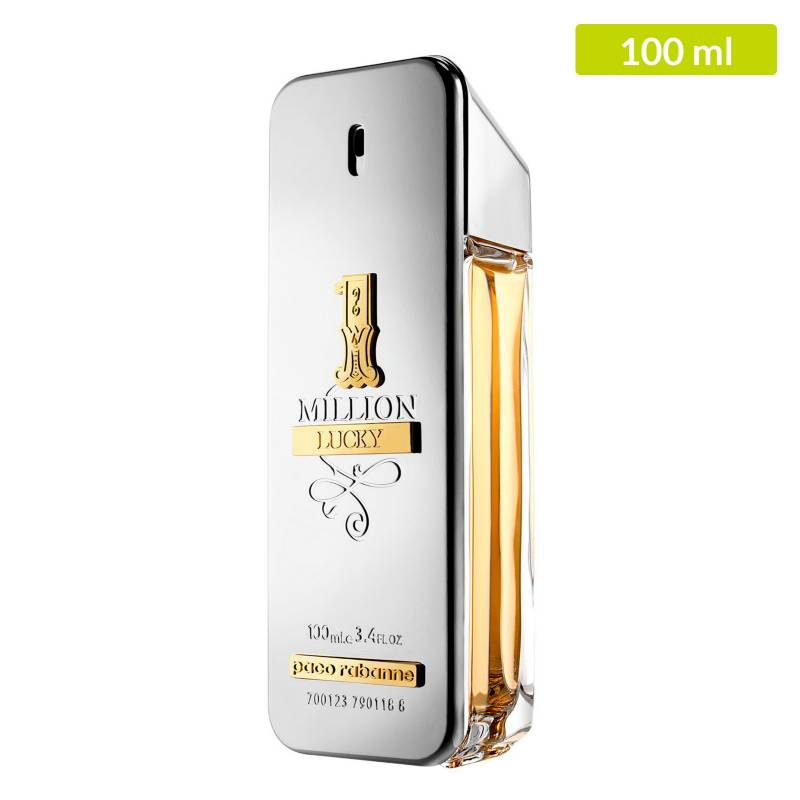 Paco Rabanne - Perfume Paco Rabanne One Million Lucky Hombre 100 ml EDT