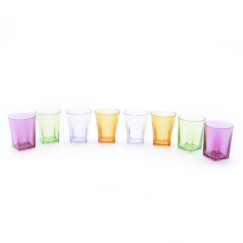 Alumar - Set x 8 Vasos Acrílicos