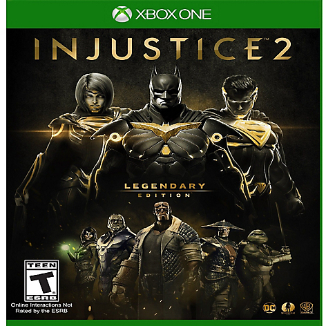 Videojuego Injustice 2 Legendary Edition