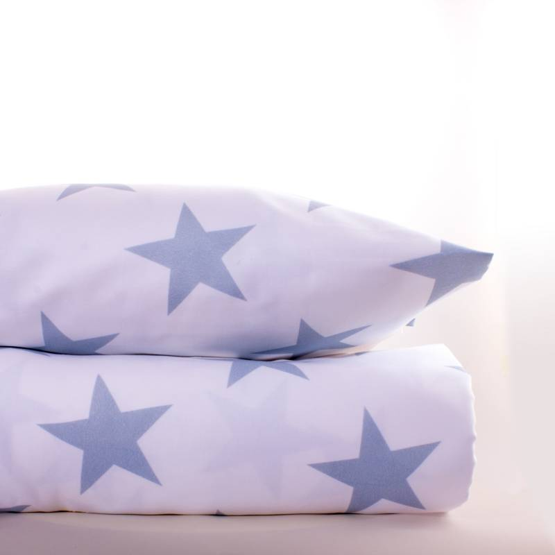 Be Kids - Funda Duvet Blue Stars