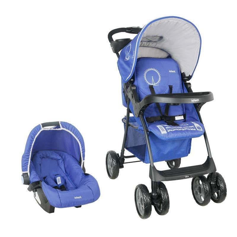 Infanti - Travel System Kei E16 London Blue