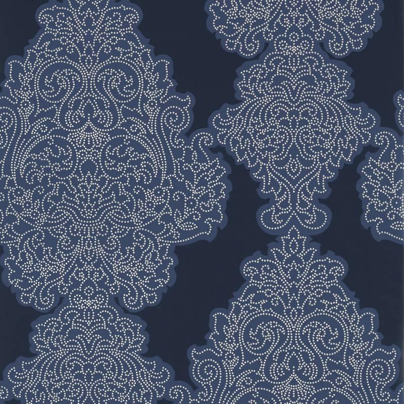 Arcadia - Papel Colgante Azul Indigo SanRemo