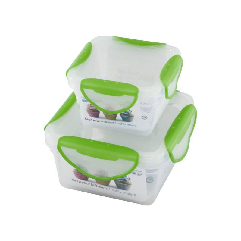 Clip Fresh - Set x 2 Contenedores Verde