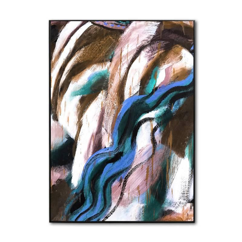 Sándalo - Retablo Abstracto 50 x 70 - 8