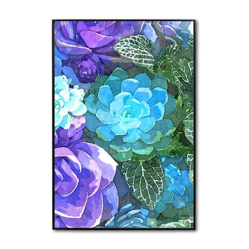 Sándalo - Retablo Floral 40 x 60 - 4