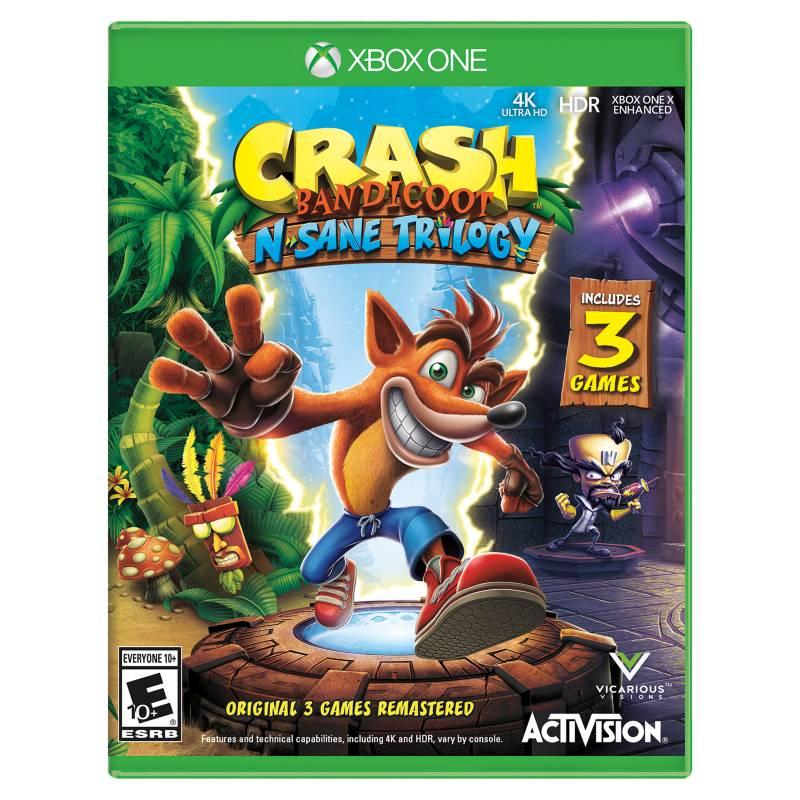 Activision - Xbox One Crash Bandicoot N'Sane Trilogy