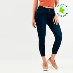 Mossimo - Jean Algodón Mujer Skinny Medio Mossimo