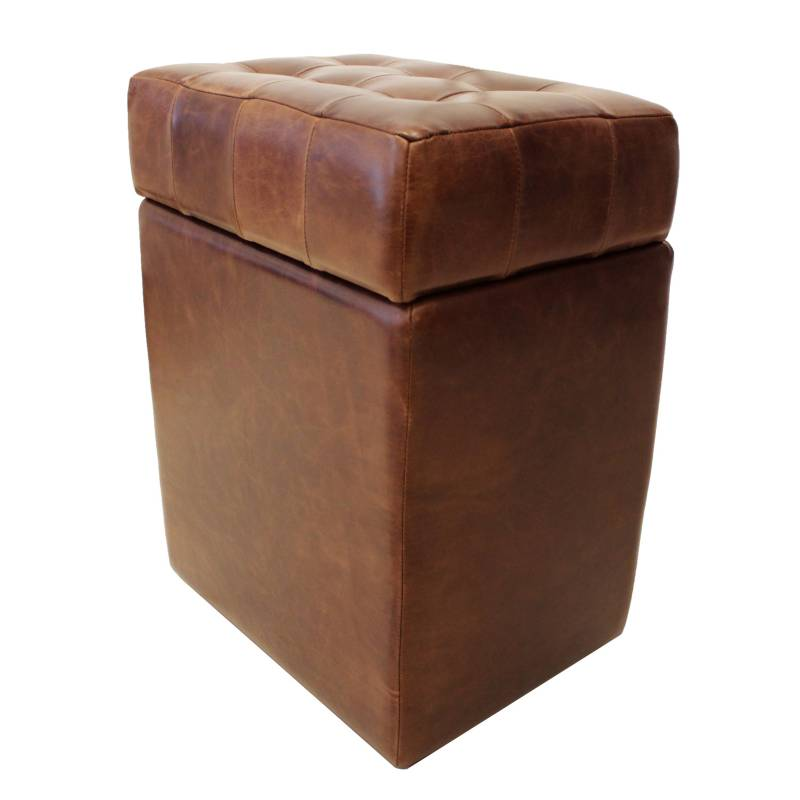 Muebles&Co - Puff en Cuero Myco