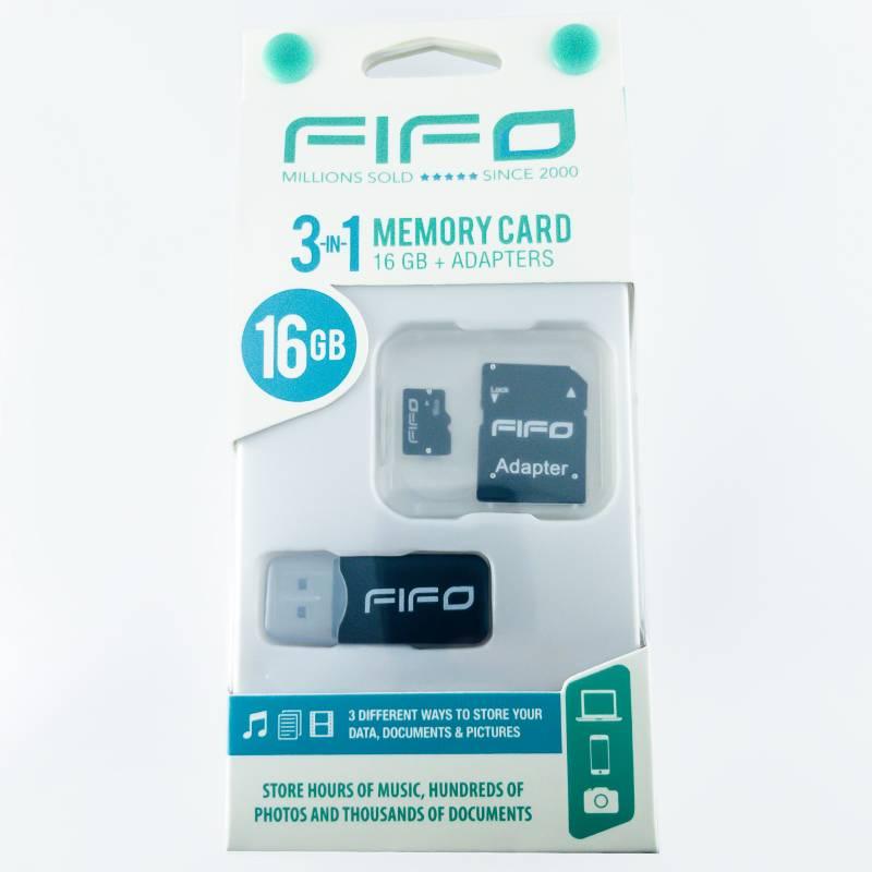 Fifo - Memoria 16GB 3 en 1
