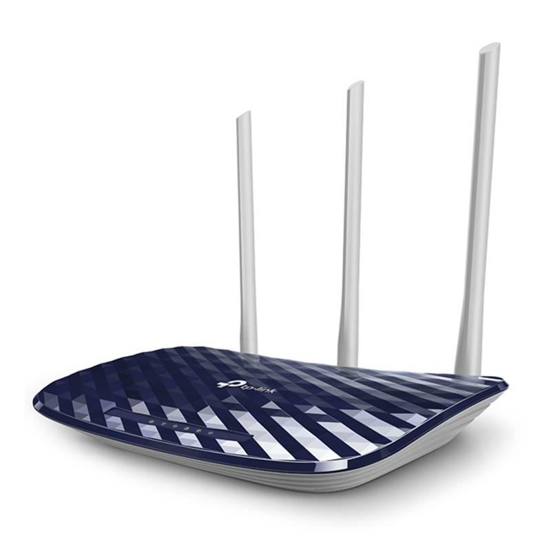 TP-Link - Router inalámbrico doble banda AC750