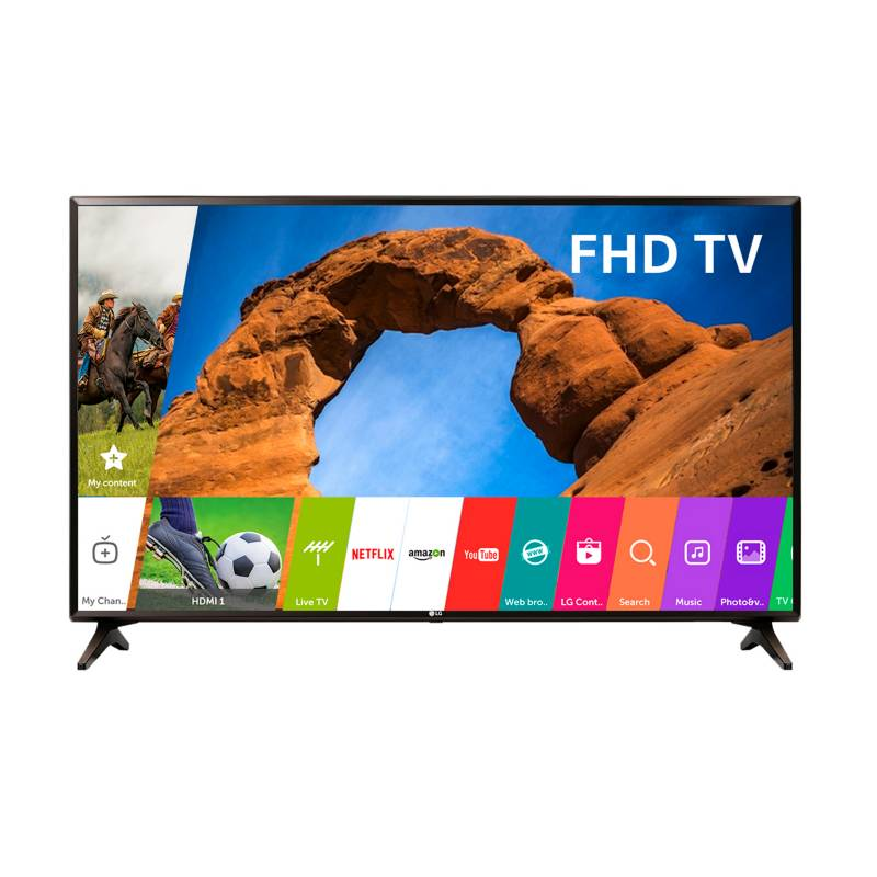 "LG - LED 49"" Full HD Smart TV