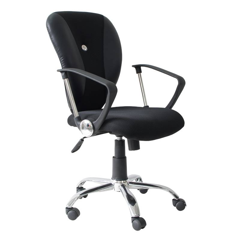 RTA MUEBLES - Silla Gerencial Jerry Negra 3280