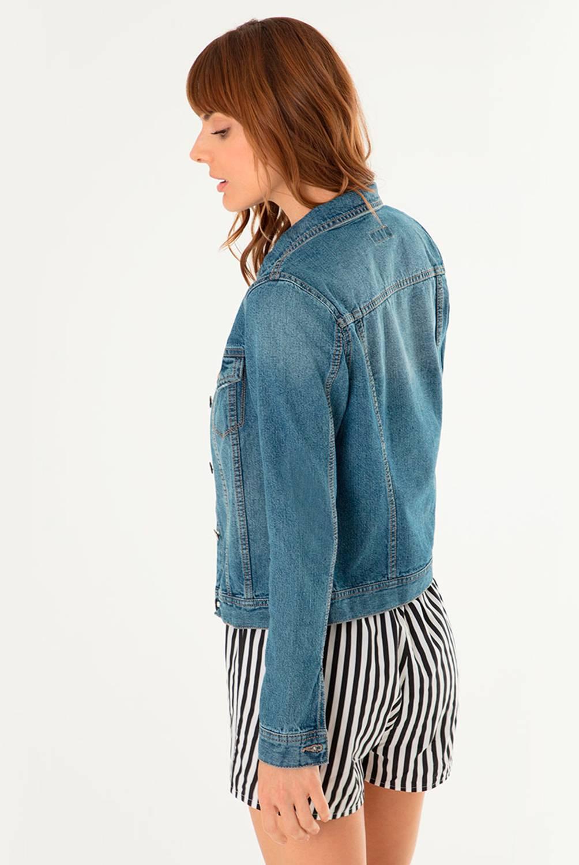 GEF - Chaqueta de jean Mujer Gef