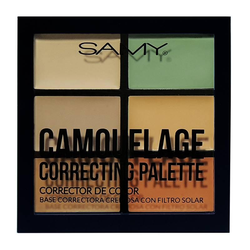 Samy Cosmetics - Paleta-Correctores de Color