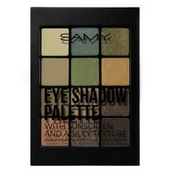 SAMY Cosmetics - Paleta de Sombra x 12