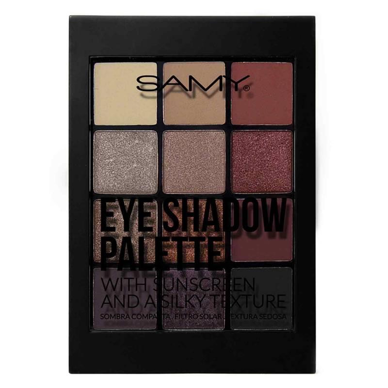 Samy Cosmetics - Paleta x 12 Sombras # 05 9.5 g