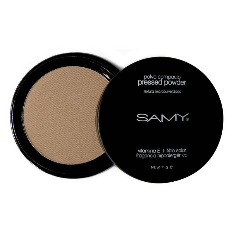 SAMY Cosmetics - Polvo Compacto Micropulverizado