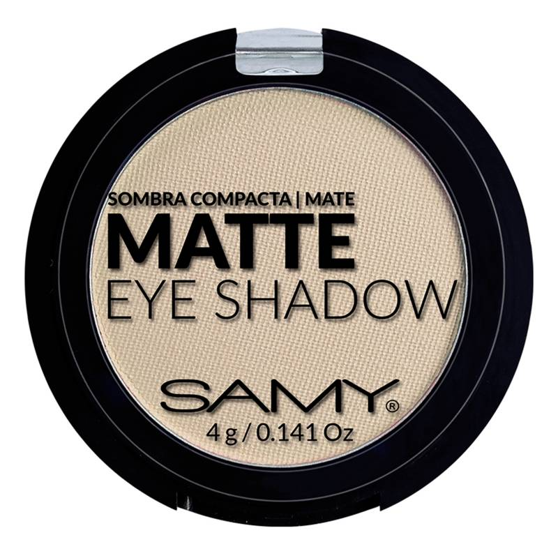 Samy Cosmetics - Sombra Individual-Mineral Mate