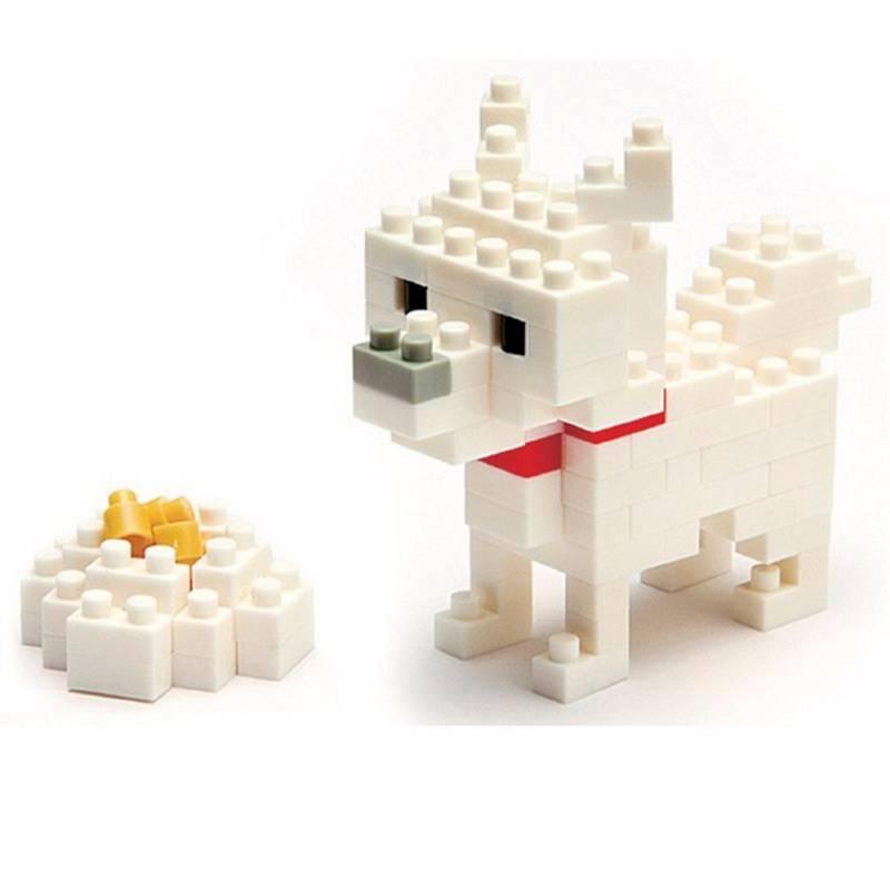 Nanoblock - Armable Perro Raza Hokkaido