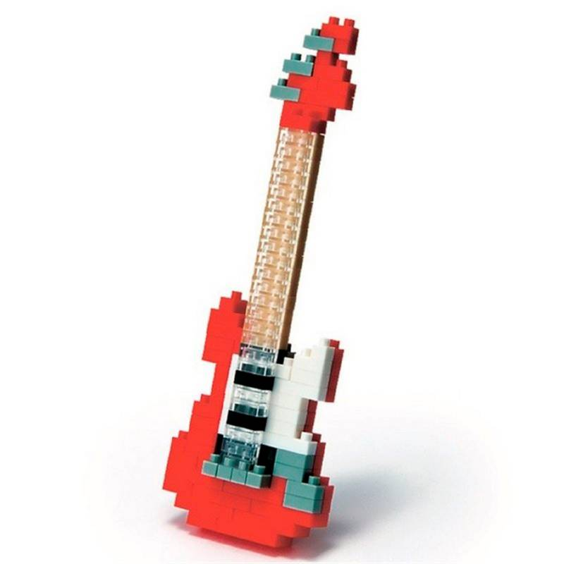 Nanoblock - Armable Guitarra Eléctrica
