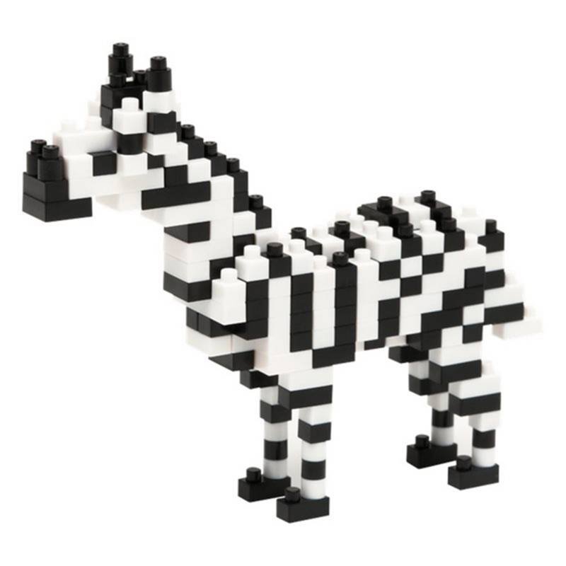 Nanoblock - Armable Cebra
