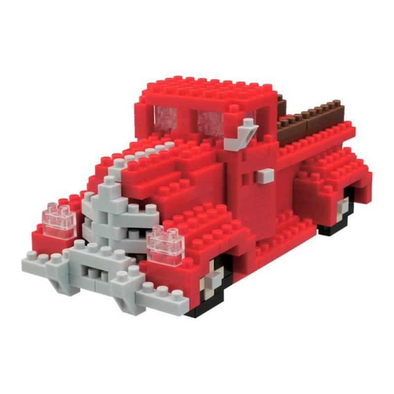 Nanoblock - Armable Camioneta PickUp Roja