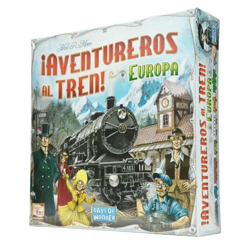 Days of Wonder - Juego Aventureros Al Tren Europa