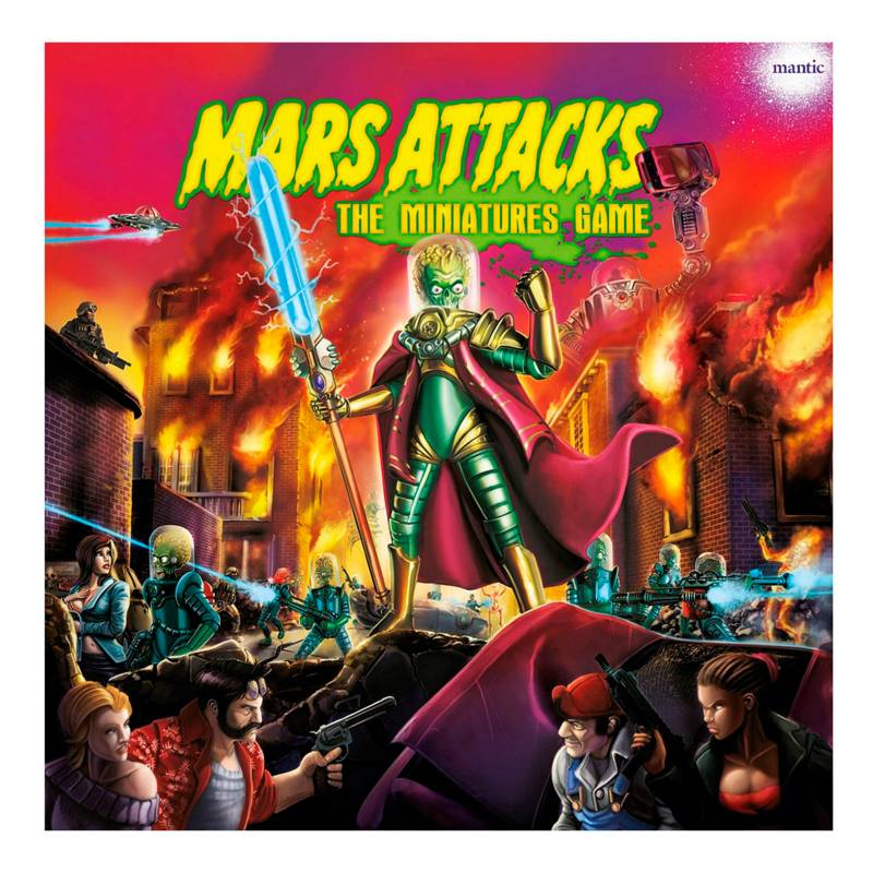 Edge Entertainment - Juego Mars Attacks