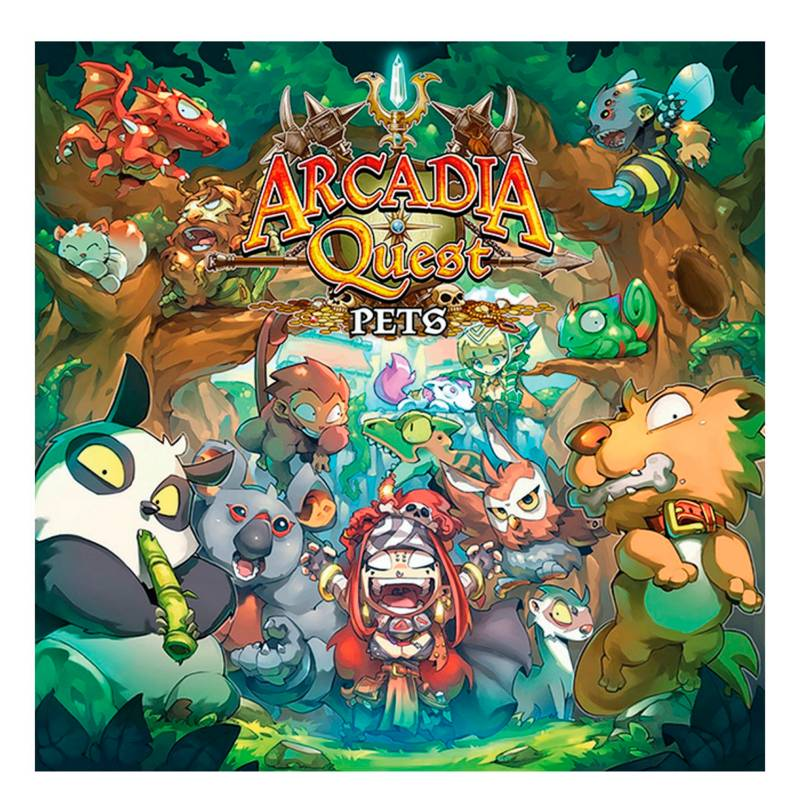 Edge Entertainment - Juego Arcadia Quest Mascotas