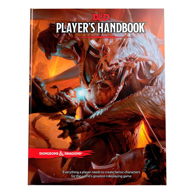 Edge Entertainment - Juego Players Handbook Manual Jugado