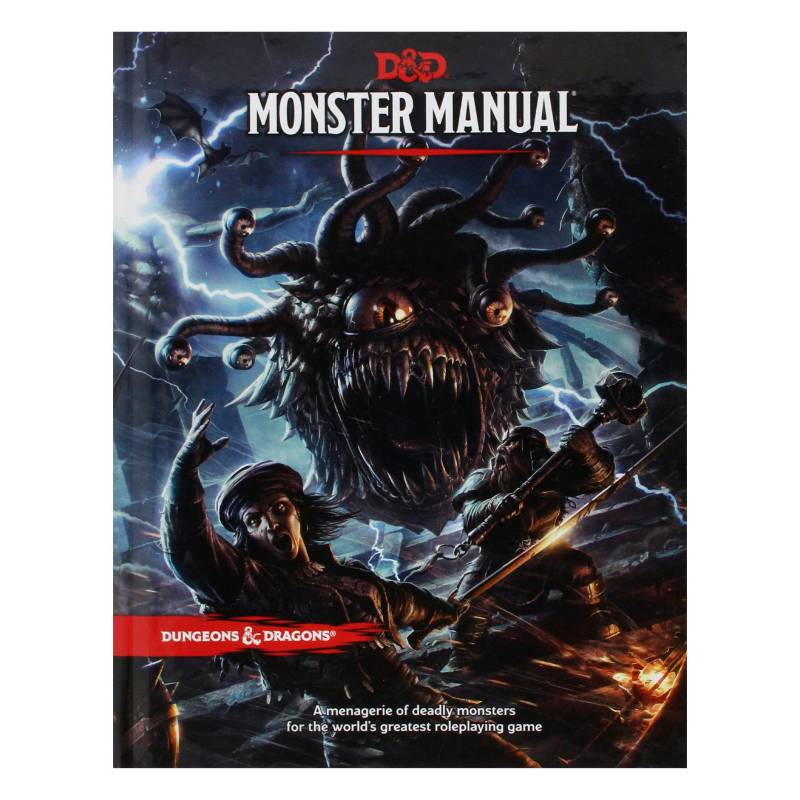 Edge Entertainment - Juego Monster Manual Monstruos