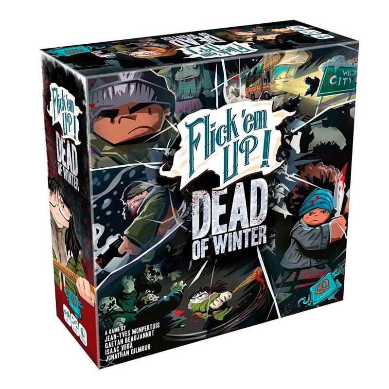Ludonova - Juego Flick Up Dead Of Winter