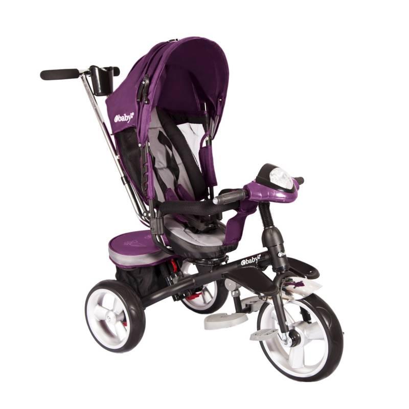 eBaby - Triciclo MAKS 302 Rosado