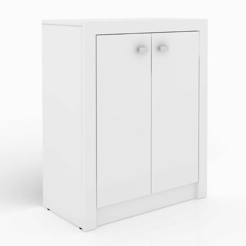 Mica - Mueble De Oficina Houston-Blanco