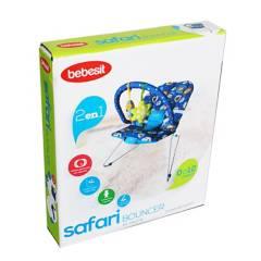Bebesit - Bouncer Safari Azul