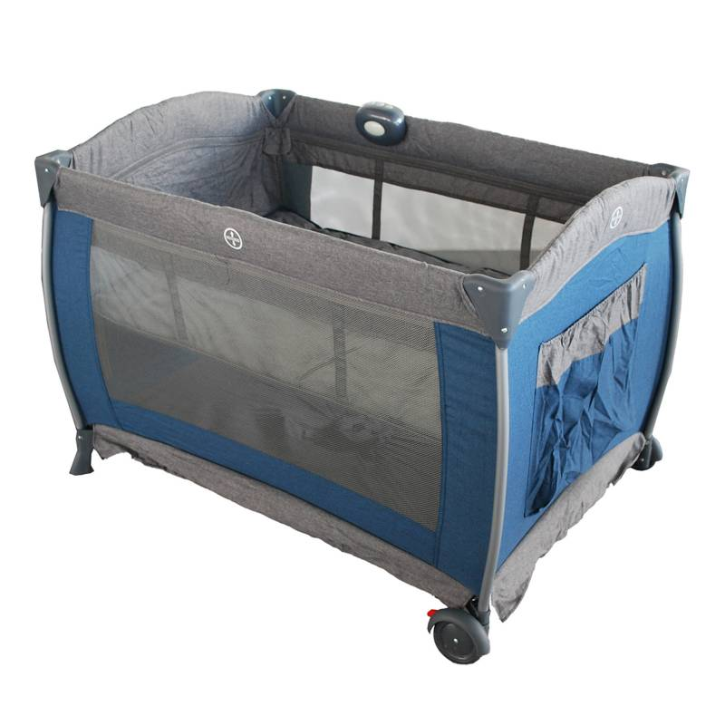 Bebesit - Cuna Corral Traveller Plus Azul