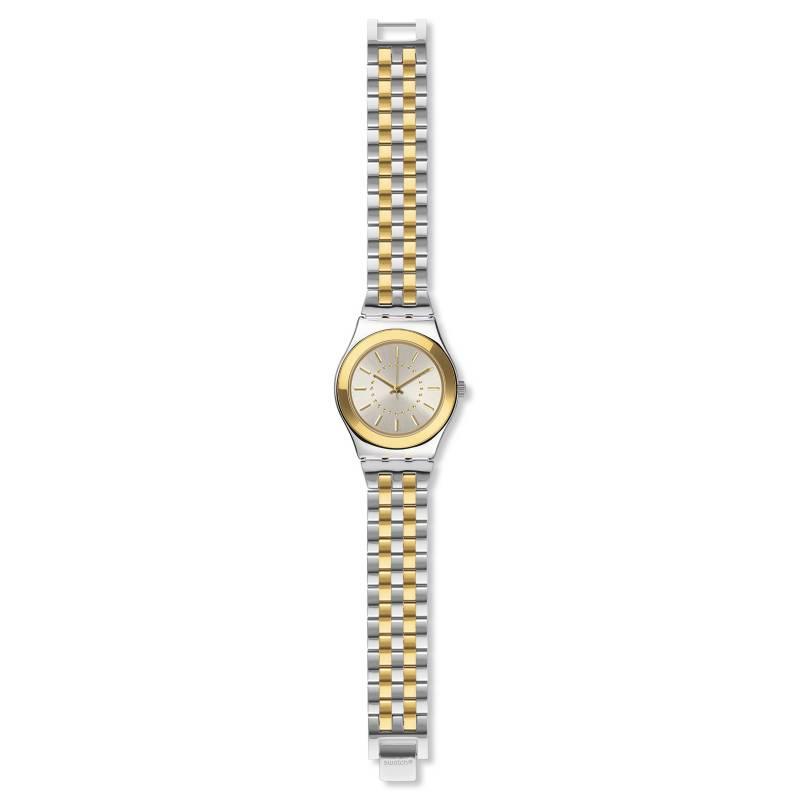 Swatch - Reloj Mujer Swatch Goldensilver YLS207G