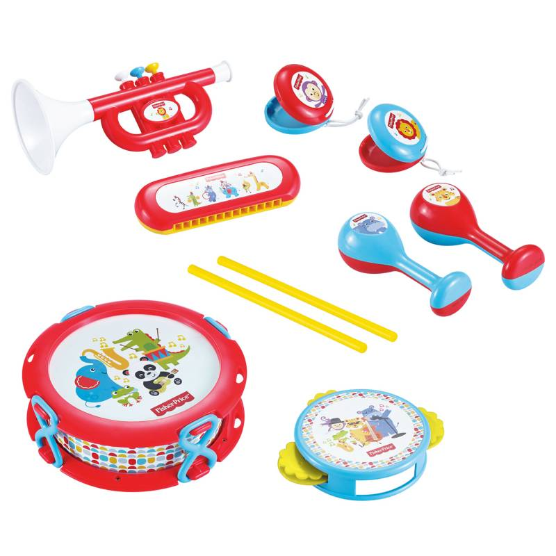 Fisher Price - Juguete Set de Banda Musical
