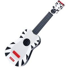 Fisher Price - Juguete Guitarra Musical Zebra Negra