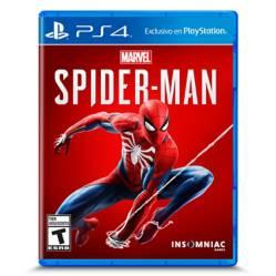 Videojuego Spiderman PS4