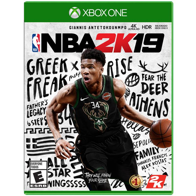 2K - Videojuego NBA 2K19 Xbox One