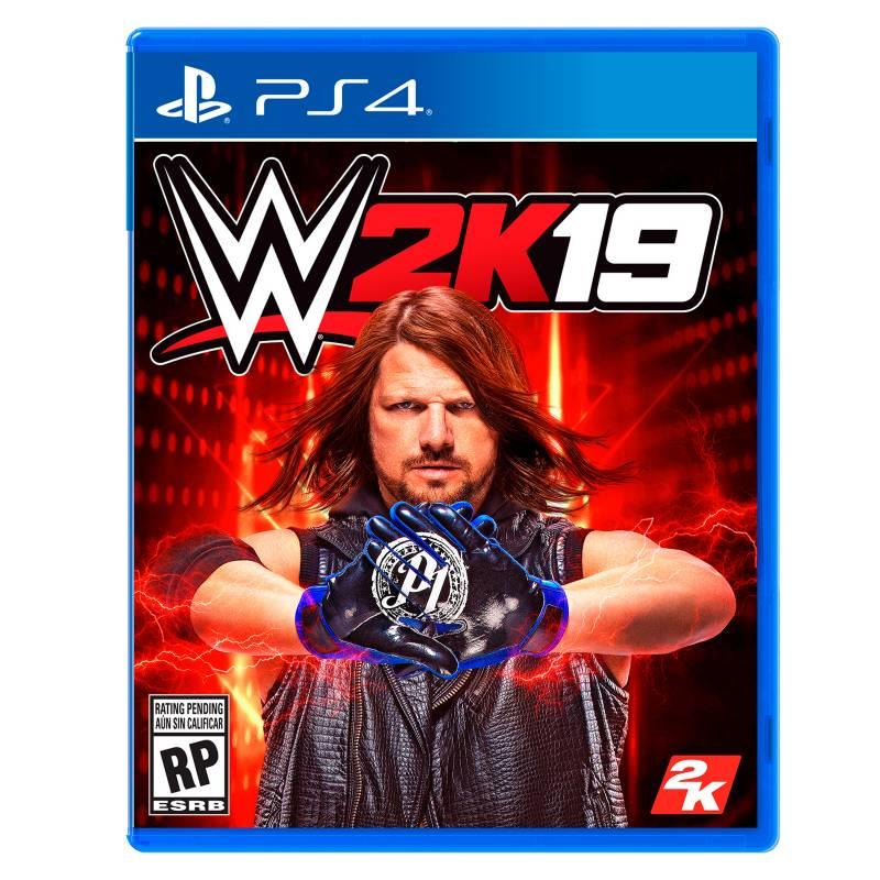 2K - Videojuego WWE 2K19 PS4