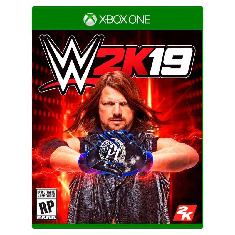 2K - Videojuego WWE 2K19 Xbox One