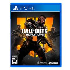 Activision - Videojuego Call of Duty Black Ops 4 PS4