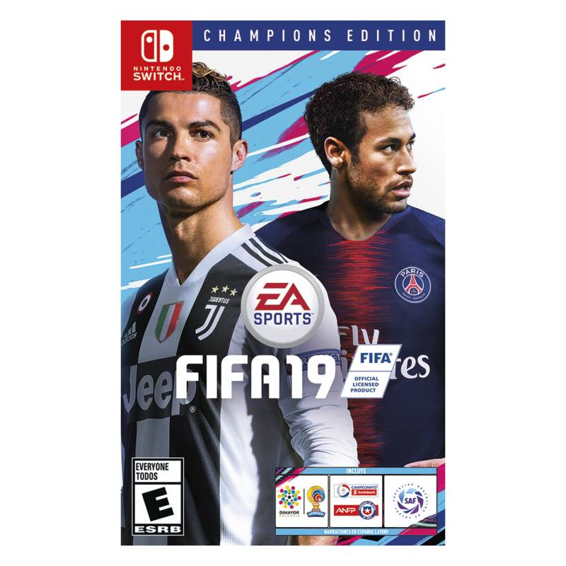 Nintendo - Videojuego FIFA 19 Champions Nintendo Switch